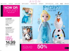 "FROZEN Elsa and Olaf on sale 50% off. Get yours while they last just $14.99 for 26"" plush dolls. Elsa sings a portion of Disney's Frozen ""Let It Go"" and Olaf glows in 3 colors. Perfect for cuddling. #frozen #elsa #olaf #50%OFF"