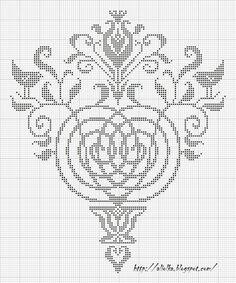 detailed motif, shawl back, curtain?