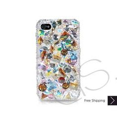 Casta Bling Swarovski Crystal iPhone 5 Case - Silver  Key Features:  Distinctive Style! Made With SWAROVSKI® ELEMENTS Each Crystal Is 100% Hand Set By Skilled Craftsman Best Combinations Of High-tech & luxury Perfect For Parties And Balls  $189.42