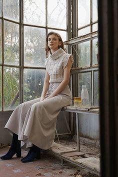 Alejandra-Alonso-Rojas-granny-square-crochet-cowl-neck-shirt.jpg (1365×2048)