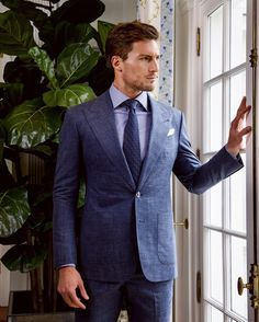 Bespoke Suit, Bespoke Tailoring, Suit Fashion, Mens Fashion, Suit Up, Savile Row, Professional Look, Sport Casual, Office Outfits