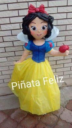 Princess Pinata, Princess Birthday, Disney Princess, Paw Patrol Pinata, Mexican Pinata, Snow White Birthday, Paper Mache Sculpture, Holidays And Events, 4th Birthday