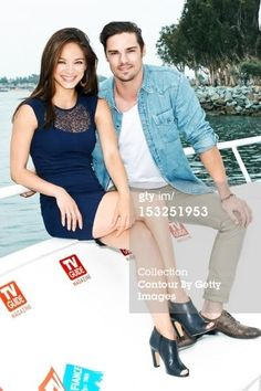 Kristin Kreuk & Jay Ryan from Beauty and the Beast. I just love this picture!