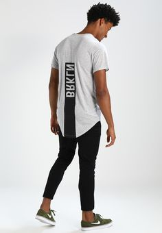 Brooklyn's Own by Rocawear Camiseta print - light grey melange - Zalando.es