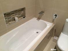 After Photo 2 Complete Bathrooms, Bathroom Renovations, Corner Bathtub, Bathroom Remodeling, Corner Tub