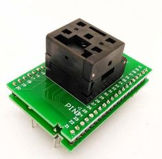 QFN40 IC test socket adapter 5*5 0.4mm QFN40 programming adapter