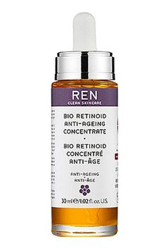 Start with retinol derivatives (retinyl palmitate, retinyl acetate, and retinyl linoleate) or natural forms of retinol (like chicory root, tara tree, and beggars stick flower), which are all gentler and less irritating.