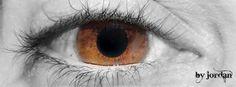 nikos #brown #eye #blackandwhite