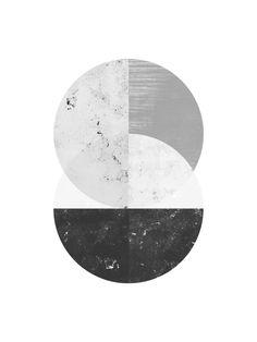 Abstract Circle Art Print by I Love Printable