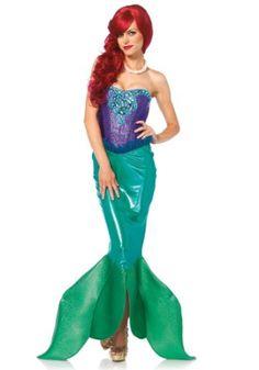 Leg Avenue 85368 - Deep Sea Siren Damen kostüm , Größe Large (EUR 40)
