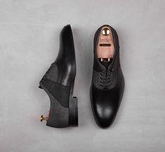 Conhpol A/W 16/17 #shoes #material #men #classic #gomato #laces #shoetree #black #mix Men Dress, Dress Shoes, Shoe Tree, Oxford Shoes, Classic, Casual, Clothes, Collection, Black