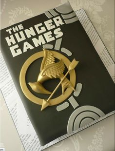 Hunger Games book cake