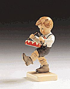 little drummer boy...this little guy My Mom bought me for my son when he was small played the drums..