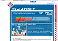 "another random example, but Domino's pizza tracker also does a ""who's making your food"" thing. Always enjoy it."