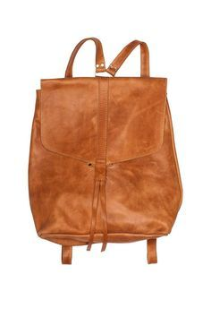 Yami: Backpack | Fair Trade Leather Backpack | Raven + Lily