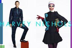 Harvey Nichols Campaign with paper makeup Paper Makeup, Advanced Higher Art, Lisa Eldridge, Fashion Now, Harvey Nichols, High Art, International Fashion, Supermodels, Cool Photos