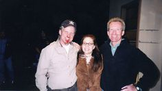 """Hanging with the Producer's on set of """"Unspeakable"""" that I line produced and did a small stunt acting bit"""