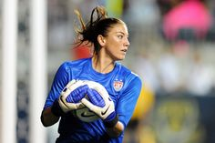 Credit where credit is due. USA Keeper Hope Solo