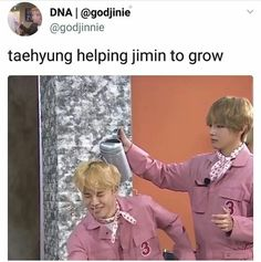 Jiminie and Tae |