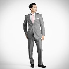 Gray Suit by Gentux. Rent for $129 for suit + $60 for extras. Vest available.
