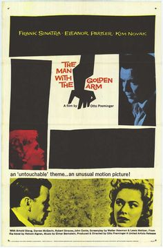 Saul Bass' The Man with the Golden Arm poster