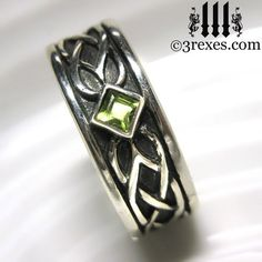 Cross Band Black White stone Men Solid Sterlig Silver 925 Ring Unisex gift for Him Husband Friends Knight Medieval Gothic Celtic Style
