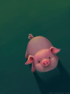 Piggy by sadiek at http://sadiek.deviantart.com/art/Piggy-477217215