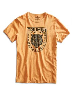 Triumph Tiger Head Tee | Lucky Brand
