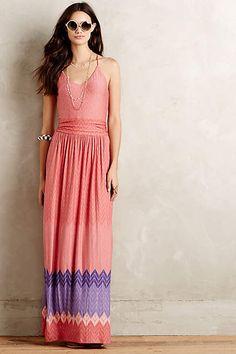 Sunfall Maxi Dress #AnthroFave