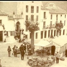 The old market in loja.