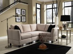 Small Living Room Ideas Sectionals Simplicity sofas Quality Small Scale and Rta sofas Couches For Small Spaces, Small Space Living, Small Rooms, Small Sofa, Small Small, Small Scale Furniture, Leather Living Room Furniture, Small Sectional Couch, Living Room Sectional