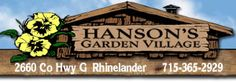 Hanson's Garden Village: Mobile Page ( recommended by Linda )