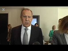 Short Media-Interview With Sergey Lavrov