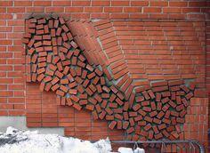 Brick Wall Art inspirational parametric brick wall | #for-work | pinterest