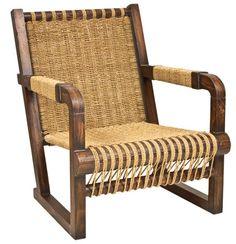Ralph Lauren Home Joshua Tree Chair, $2,395 木材表面被處理成如古董家具般摩挲發亮的包漿效果。敦厚的結構,細密的編織,安穩可靠如一位多年的老友。 At Jordans Interiors, 604 733 1174, jordans.ca