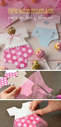 Lindos regalitos ideales para un Baby Shower, los detalles hacen la diferencia.