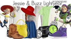 Jesse and buzz outfits