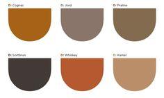 Her er fargene du heller bør velge. Whiskey, Drop, Kitchen, Bijoux, Trends, Colors, House, Camel, Color Combinations