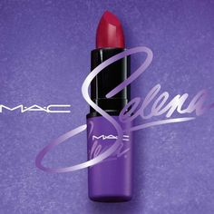 Get a first glimpse of the bold Como La Flor lipstick from the hotly anticipated MAC Selena collection.