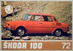 Škoda 100/110 (1969–1977) Retro Cars, Vintage Cars, Bus Engine, Seat Cupra, Vw Group, Volkswagen Group, Classic Cars, Classic Auto, Old Cars