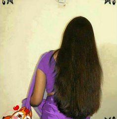 Really Long Hair, Super Long Hair, Loose Hairstyles, Indian Hairstyles, Beautiful Long Hair, Gorgeous Hair, Long Indian Hair, Long Dark Hair, Silky Hair