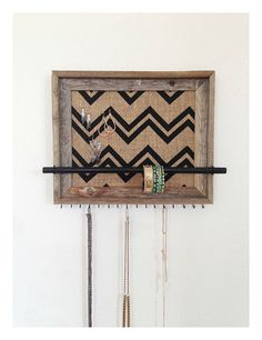 14x17 Barn Wood Jewelry Organizer Choice of by AfterTheLeavesFall