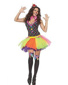 Clowning Around Adult Womens Costume - Spirithalloween.com