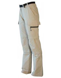 Outdoorhose und Trekkinghose Damen KENORA Double Zip-Off von DEPROC.  Die Damen Trekkinghose Kenora ist leicht, dünn und luftig - optimal für lange Wanderungen an warmen Sommertagen. Je nach Temperatur kann die Outdoorhose per Reißverschluss auf zwei verschiedene Längen abgezippt werden.