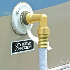 Don't have to buy at camping world, can go to any limber/hardware store and get all you need to make your own.  90 Degree Water Hose Entry Elbow - Camco 22504 - Faucets & Inlets - Camping World