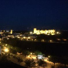 Anochece en Baños de la Encina Jaén #viveCastillosyBatallas by viajando_imagenesysensaciones