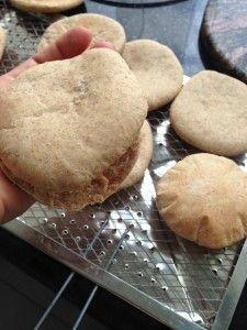 Pita integral hecha en casa - Recetas Judias