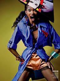 Chanel Iman top model