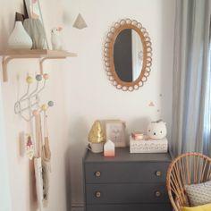 Deco Trendy • A T E L I E R • > Enfant > • Visite d'une chambre de bébé fille •