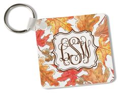 Crisp Leaves Key Chain